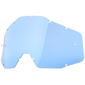 100% Replacement Lenses, blue-clear